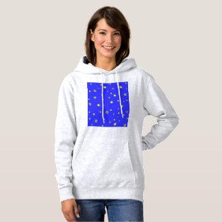 星および雪片 パーカ