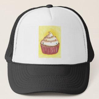 星が付いているカップケーキは振りかけます キャップ