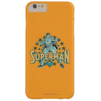星が付いているスーパーマンの変更 スキニー iPhone 6 PLUS ケース
