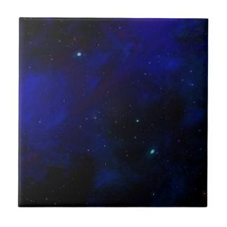 星が付いている真夜中の青空 タイル