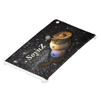 星が付いている空のSoyuzのロシアのな宇宙船 iPad Mini カバー