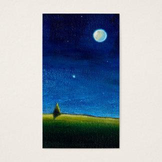 星が呼んでいる夜景色の芸術、Colin 名刺