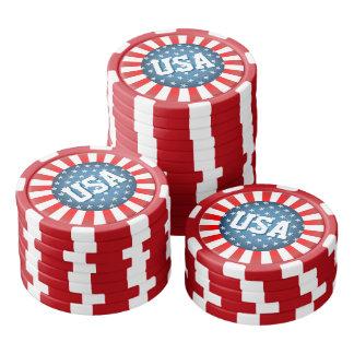 星ちりばめられたスタイル ポーカーチップ