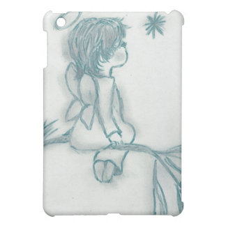 星で望む天使-ターコイズ iPad MINI カバー