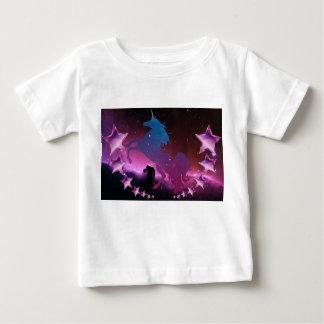 星とのユニコーン ベビーTシャツ