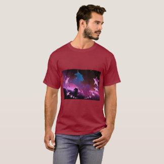 星とのユニコーン Tシャツ