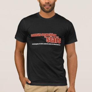 星と捜す人口調査 Tシャツ