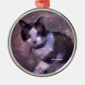 星のかんじきの子猫 メタルオーナメント
