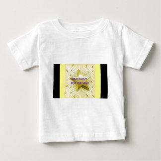 星のために手を差し伸べて下さい ベビーTシャツ