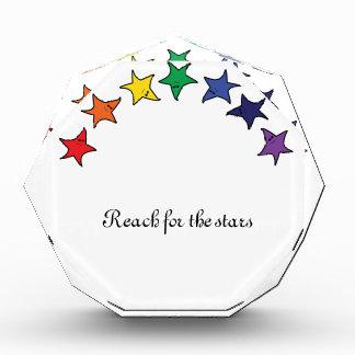 星のための生気に満ちた範囲 表彰盾