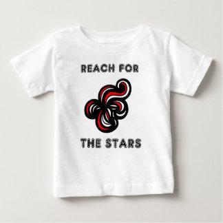 """""""星のための範囲""""のベビーのTシャツ ベビーTシャツ"""