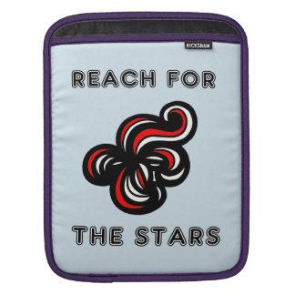 """""""星のための範囲""""のIpadの柔らかい場合 iPadスリーブ"""
