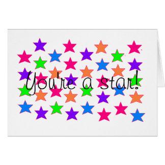星のための範囲! カード