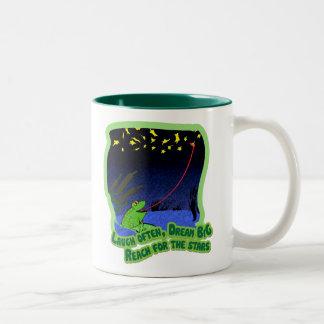 星のための範囲 ツートーンマグカップ