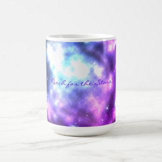 星のための範囲! 銀河系のコーヒー・マグ モーフィングマグカップ