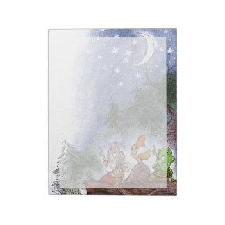 星のカウント ノートパッド