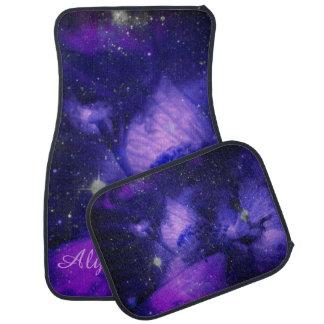 星のカーマットの紫色の花 カーマット