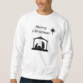 星のクリスマスの出生 スウェットシャツ