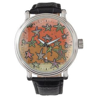 星のダンス 腕時計