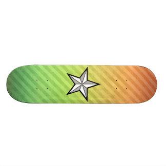 星のデザイン スケートボード