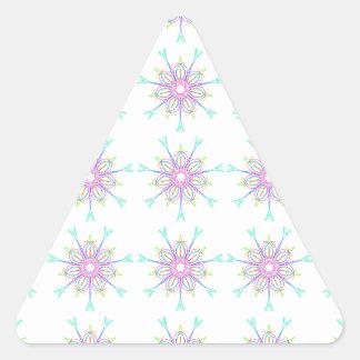 星のバスト-天国のようにプリントを占って下さい 三角形シール