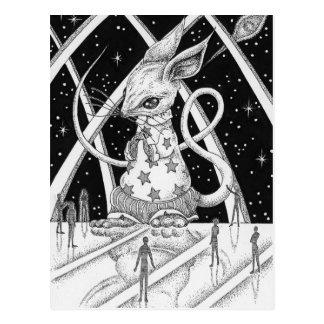 星のマウス ポストカード
