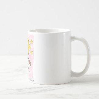 星のワイヤーフォックステリア犬のswingin コーヒーマグカップ