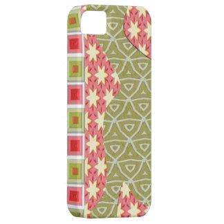 星の三角形の正方形の穹窖のiPhone 5 iPhone SE/5/5s ケース