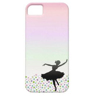 星の中のバレエダンサーの踊り-日没 iPhone SE/5/5s ケース