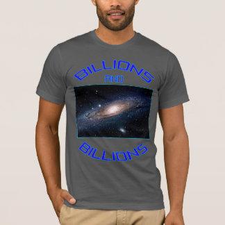 星の十億そして十億 Tシャツ