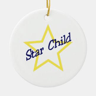 星の子供 セラミックオーナメント