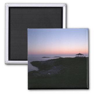 星の島の日没 マグネット