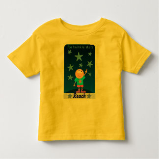 星の幼児のワイシャツのための範囲 トドラーTシャツ