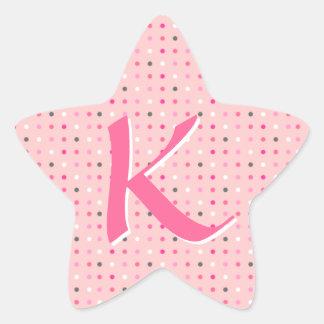星の手紙 星シール