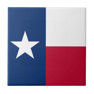 星の旗のテキサス州の単独旗 タイル