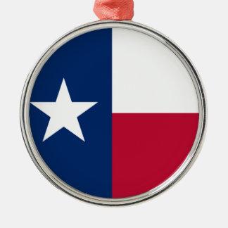 星の旗のテキサス州の単独旗 メタルオーナメント
