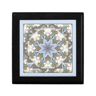 星の曼荼羅の小さい宝石箱かラベンダー ギフトボックス
