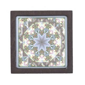星の曼荼羅の小さい記念品箱 ギフトボックス