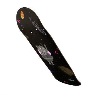 星の泡およびしゃっくりのスケートボード スケートボード