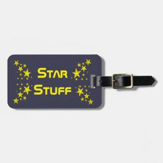 星の物の荷物のラベル ラゲッジタグ