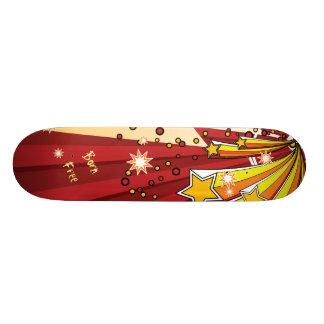 星の破烈の生まれる自由 20.6CM スケートボードデッキ