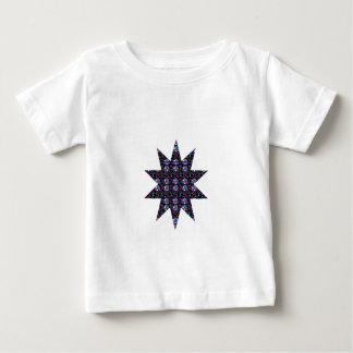 星の花のチャクラの螺線形のギフトエネルギーおもしろいNVN550 ベビーTシャツ