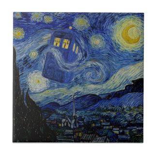 星の陶磁器4.25x4.25タイルの夢 タイル