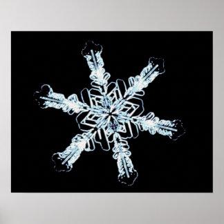 星の雪の水晶 ポスター