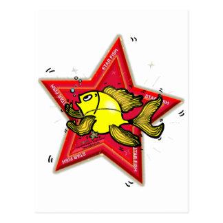 星の魚 ポストカード