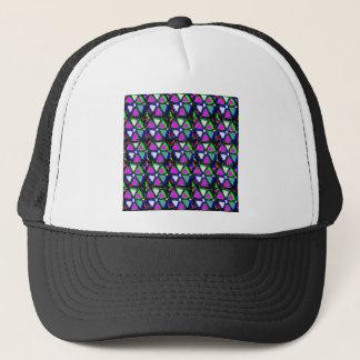 星のDecoのピンクの紫色の青くエレガントなパパのお母さんNVN705 キャップ