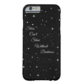 星は暗闇なしで照ることができません BARELY THERE iPhone 6 ケース