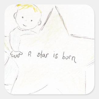 星は生まれます スクエアシール