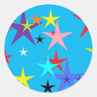 星は衝突します ラウンドシール