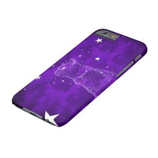 星を眺める猫 BARELY THERE iPhone 6 ケース